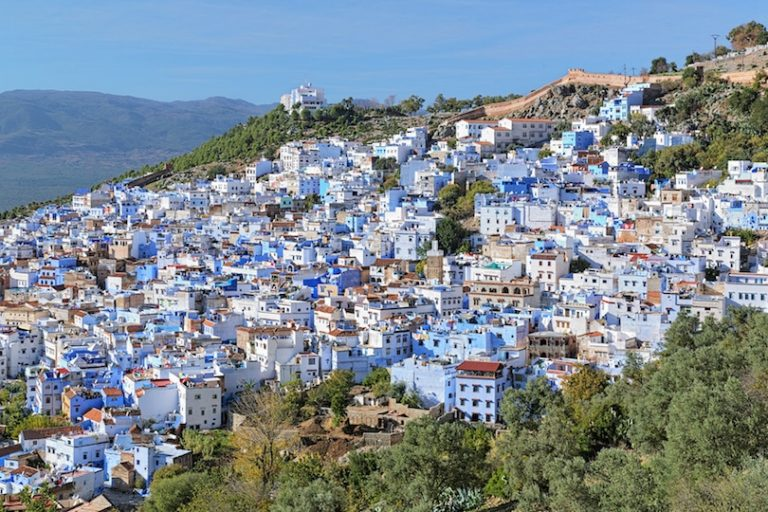 Chefchaouen-blue-city-expat-english-teacher-overlooking-the-valley