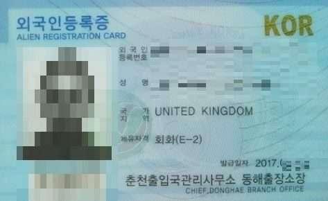 e2 visa for teachers teaching in korea