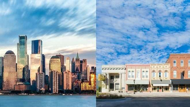 small-town-vs-cities-in-the-usa