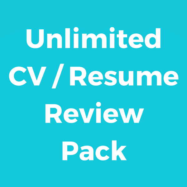Unlimited CV Pack